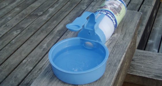 A Really Good Portable Pet Water Bowl That We Use
