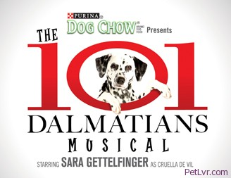 The 101 Dalmatians Musical – April 7-18, 2010 – at The Theater at MSG!