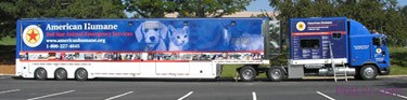 News Release: 82 Foot Long Animal Rescue Rig On Way To Missouri