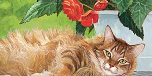 Lang Love of  Cats 2016 Wall Calendar by Persis Clayton Weirs, January 2016 to December 2016, 13.375 x 24 Inches (1001926)