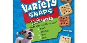ALPO Variety Snaps Dog Treats, Little Bites with Beef, Chicken, Liver and Lamb Flavors, 32 oz Box
