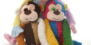 Walmart Plush Multicrew Monkey Dog Toy