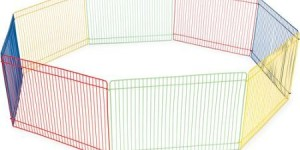 Prevue Pet Products 40090 Small Animal Playpen 13 X 36 X 9
