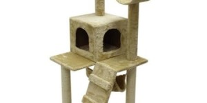 ALEKO 47″ Cat Tree Condo Scratching Post Pet Furniture