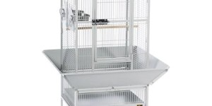 Prevue Pet Products Park Plaza Bird Cage, Pewter