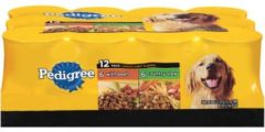 Pedigree Choice Cuts in Gravy Variety Pack, Beef and Country Stew 13.2oz Cans, 12 Count Wet Dog Food