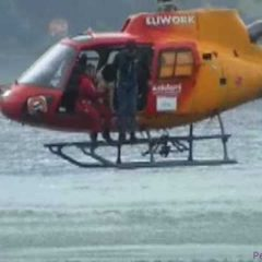 Rescue Dog Helicopter