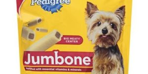 PEDIGREE JUMBONE Mini Bones Mini Snacks for Dogs 15.87 oz. 25 Count