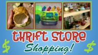 THRIFT SHOPPING! (For Hamster Supplies) PT. 2