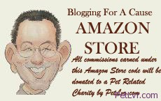 Blogging For A Cause: All commissions earned via this code will be donated to a Pet Related charity