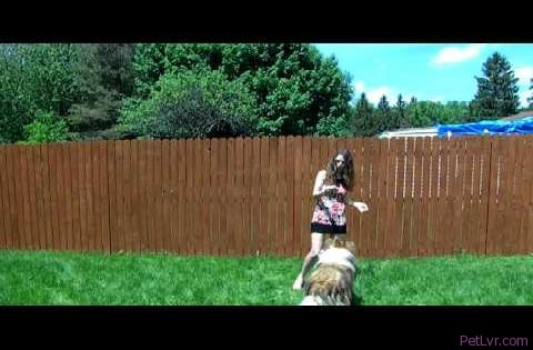 June-Marie Raw Food and Fitness Health dancing and playing with my pets in a sundress 003